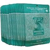 MJ Hyaluronic Acid Essence Face Skin Mask Pack Elastic,Moisturized,Clean,Relaxed 30Pcs (Hyaluronic)