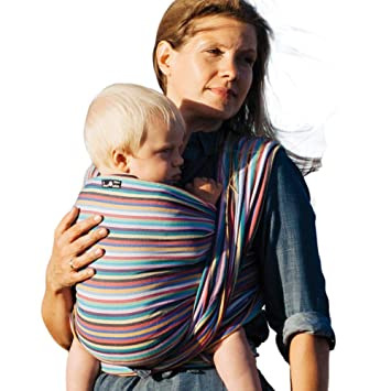 6875f9b8980 Amazon.com   DIDYMOS Woven Wrap Baby Carrier Stripes Cleo (Organic ...
