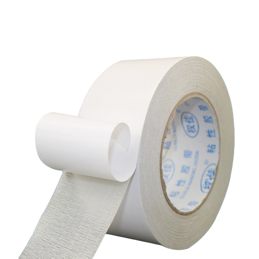 VORCOOL 60mm x 20m Double Sided Carpet Tape for Rugs Wood Working and Craft Projects Keeping Carpets Rugs in Place