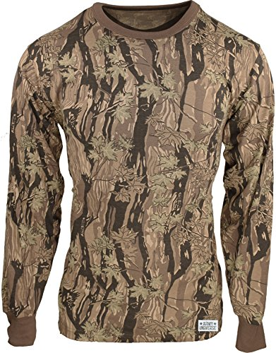 Military Camouflage Long Sleeve T-Shirt Camo Army Tee With ArmyUniverse Pin  - Buy Online in Oman.  fcf3517d6b33
