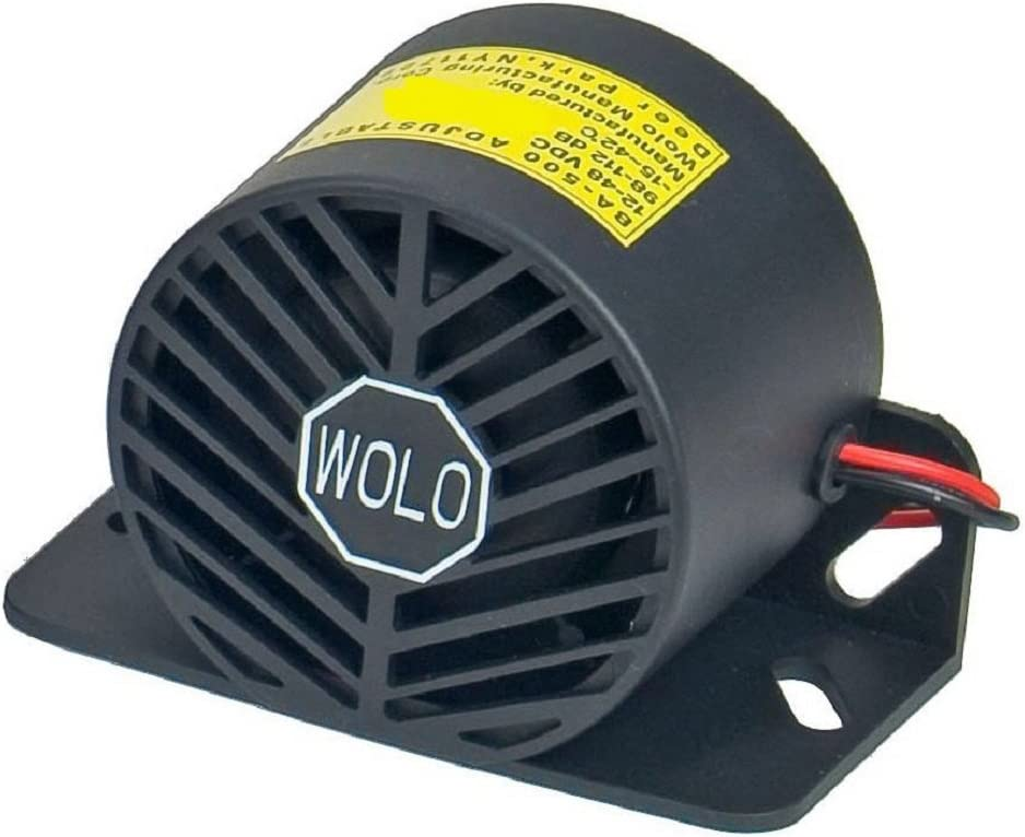 Intelligent Alarm Self-Adjusting Back-Up Alarm BA-500 Wolo