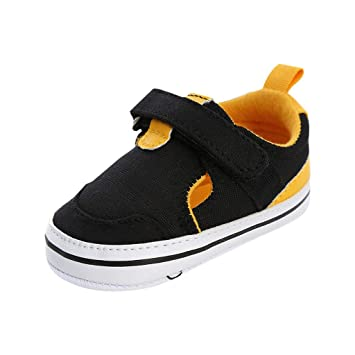 Baby Boys Toddler Kids Light Up Sneakers LED Tennis Shoes Strap Lace Size 4-9
