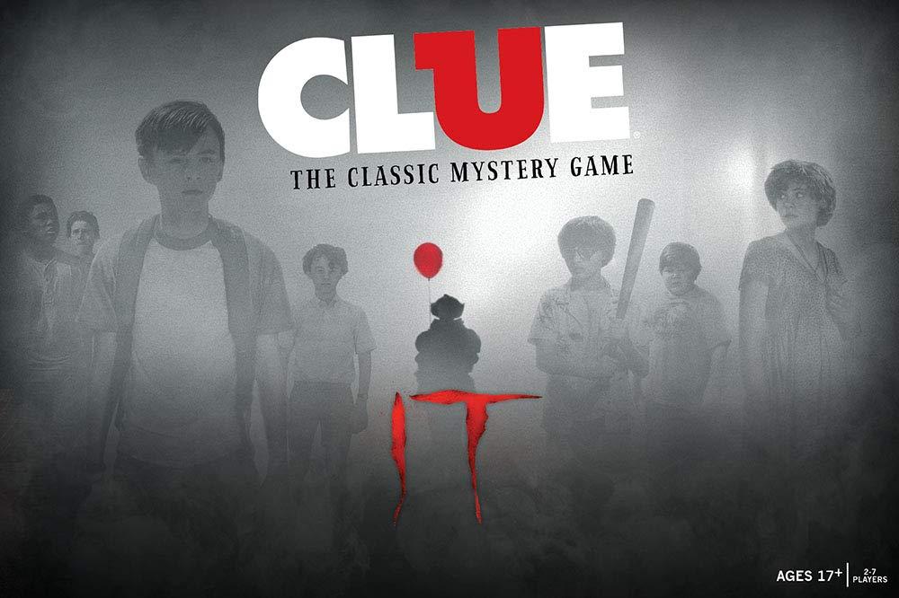 最大の割引 Clue IT IT B07NMMM919 ボードゲーム 2017年ドラマ Clue/スリラーIT 公式ライセンス商品 テーマクラシッククルーゲーム B07NMMM919, イワムロムラ:faeb7bfb --- martinemoeykens.com