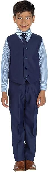 Shiny Penny Niño azul índigo traje, Traje ceremonia niño, Azul ...