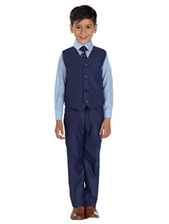 Shiny Penny Niño azul índigo traje, Traje ceremonia niño ...