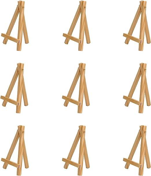Small Black Easel Creative Mark Ultra Mini Wood Display Art Easel 3-Pack
