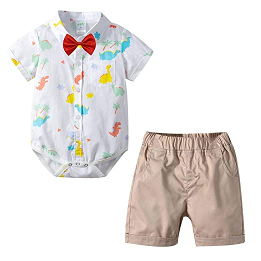 2019 A Giant Ape Baby Kids Shark Infant Summer Jumpsuit Bodysuit Outfit Set