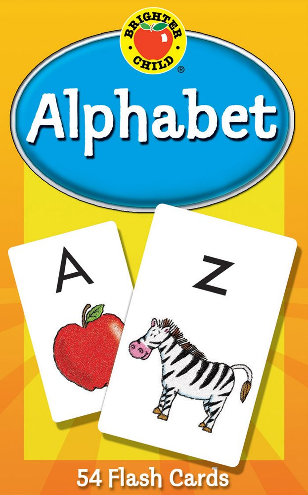 abc kids alphabet flash cards learning brighter child