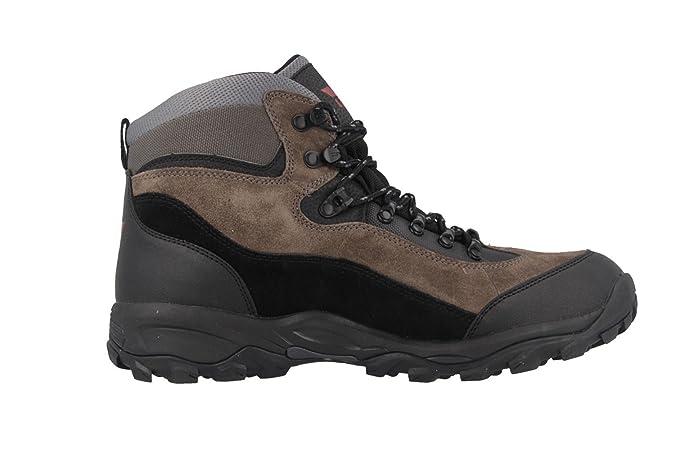 Lico Herren Outdoor/Trekkingstiefel - Schwarz/Grau/Rot Schuhe in Übergrößen,  Größe:46: Amazon.de: Schuhe & Handtaschen