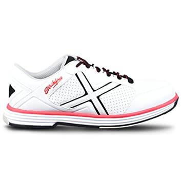 6a11a3f7e057 KR Strikeforce Mens Ranger Bowling Shoes White Black Red  Amazon.co ...