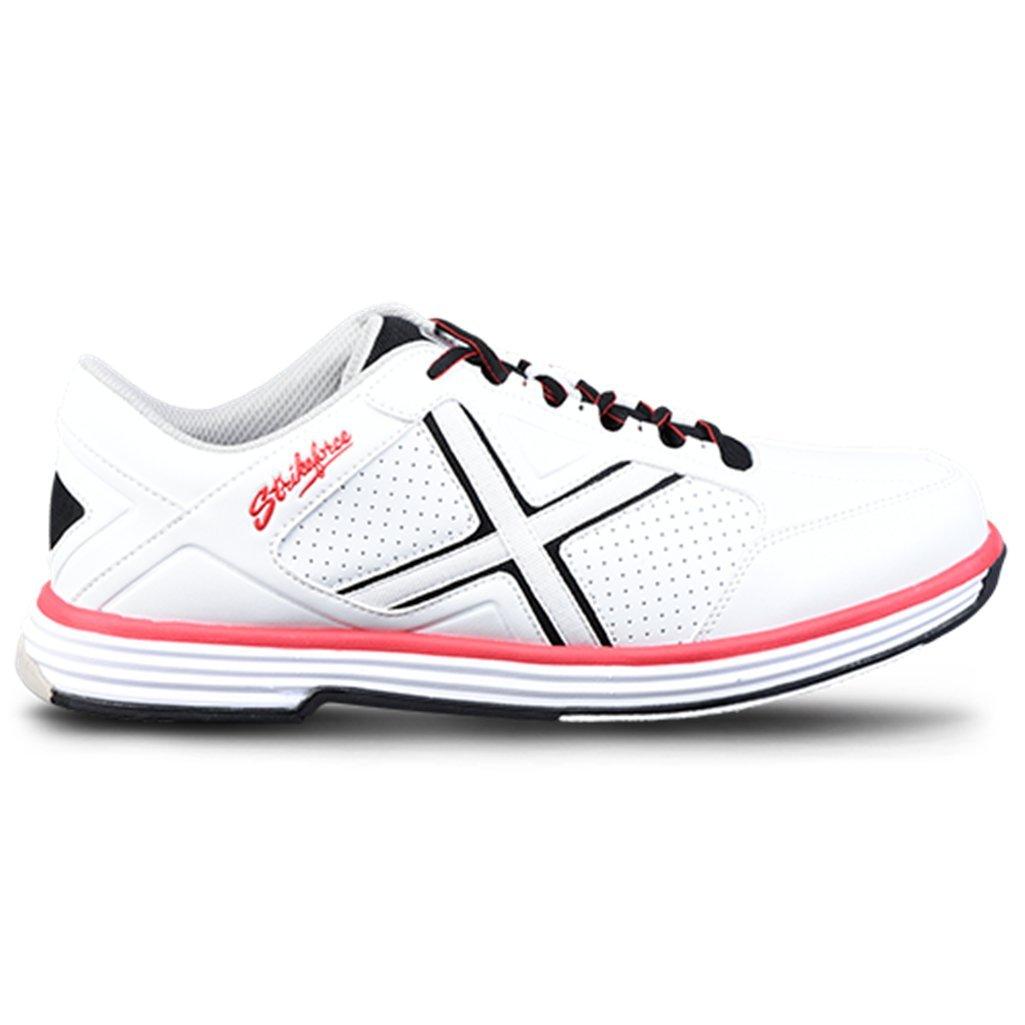 KR Strikeforce Men's Ranger Bowling Shoes, White/Black/Red, Size 13