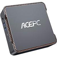 Mini PC,6GB RAM+120GB ROM,Intel Celeron J4125,Windows 10 Pro(64-bit),Dual WiFi 2.4/5G, Bluetooth 4.2,4K HD,2 HDMI+1 VGA…