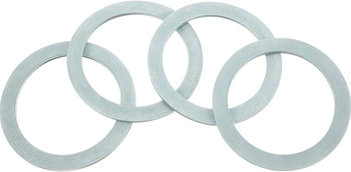 4 Packs Blender Sealing Ring Gaskets O-ring Gasket Seal O-Gasket Rubber for Oster and Osterizer Blender