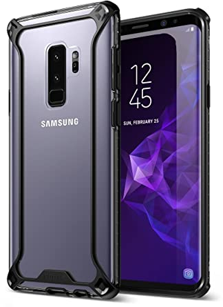 Galaxy S9 Plus Case, POETIC Affinity [Premium Thin] [Scratch Resistant Back] [Corner Protection] [Side Grip] Dual Material Protective Bumper Case for ...