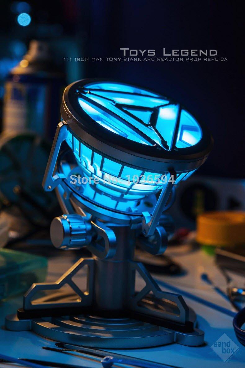 Amazon.com: Nueva moda Iron Man 3 Ark Reactor corazón ...