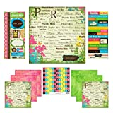 Scrapbook Customs Themed Paper and Stickers Scrapbook Kit, Puerto Rico Paradise