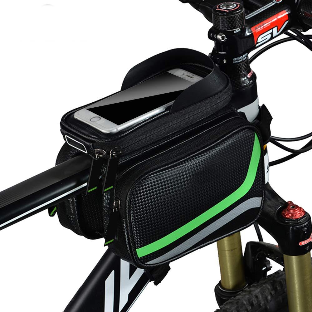 Duos Fahrrad Rahmentasche Fahrradtasche Fahrradhalterung für Samsung Galaxy S9