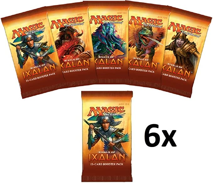 RIVALS OF IXALAN Magic the Gathering Booster Pack 3 Packs