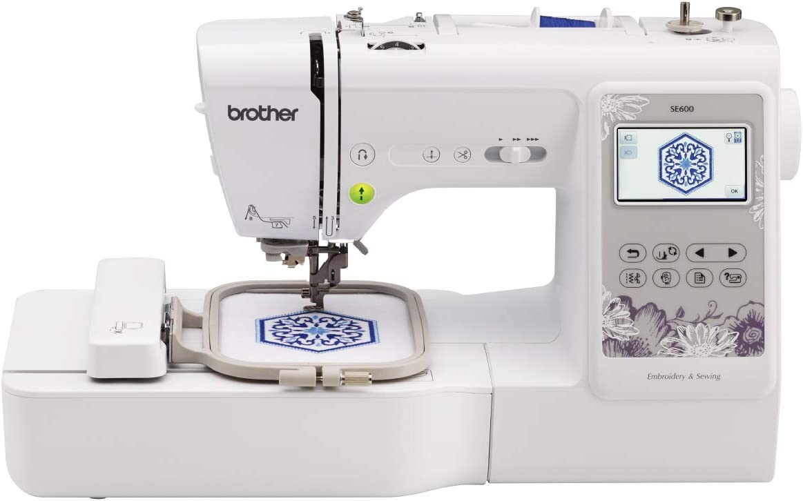 Brother SE600 Sewing and Embroidery Machine