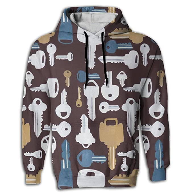 87d90f423 Amazon.com: Cjhxqt Key Designer Hoodies For Men Hoodie Sweatshirts ...