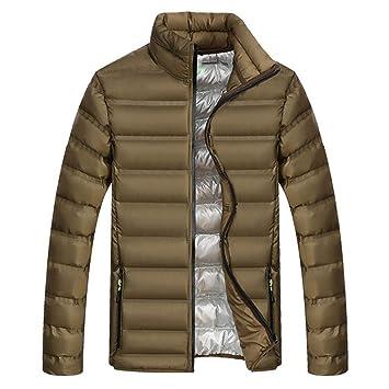 Amazon.com: Chaqueta de invierno para hombre, cálida, para ...
