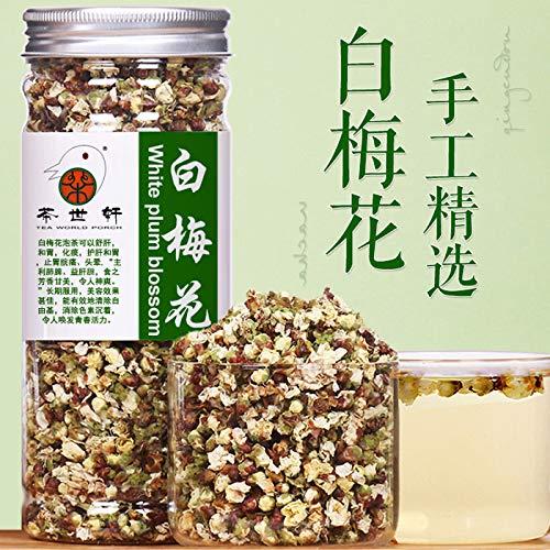 White plum blossom tea Dried Flower Tea Loose Organic Health tea skin care 50g Herbal Freckle - White Gourd