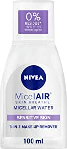 NIVEA, Face, Cleanser, 3in1 MicellAIR Makeup Remover, Skin Breathe, 100ml