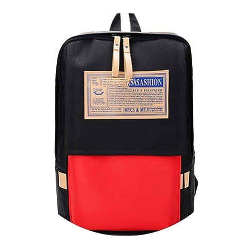 796a74a10c6 Women Schoolbag Backpacks Woman Oxford Travel Bag Panelled Kanken Backpack  School Bags,Black,27cm18cm43cm