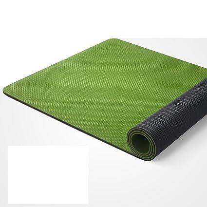 Amazon.com : Yoga mat Picnic mat- 183 80cm 0.6cm Thick ...