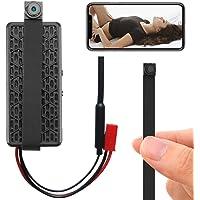 Mini WiFi DIY Spy Camera 1080P Wireless Hidden Camera Small Nanny Cam with Motion Detection Home Security Recording…