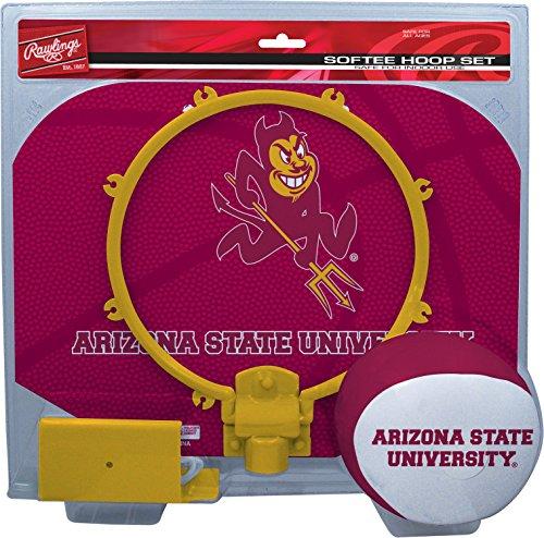 Devils Ncaa Basketball - NCAA Arizona State Sun Devils Kids Slam Dunk Hoop Set, Maroon, Small