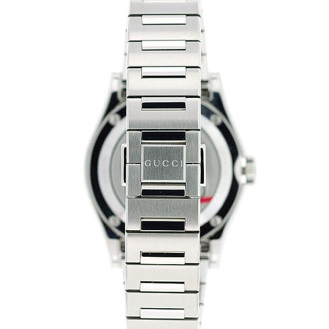 dcd64aa2750 GUCCI Men s YA115403 115 Pantheon Watch  Amazon.co.uk  Watches
