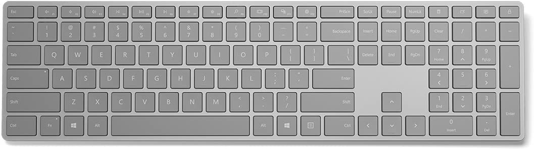 Microsoft Surface Keyboard WS200025 Silver at Kapruka Online for specialGifts