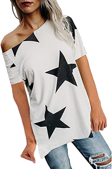 Femme T-Shirt Grande Taille Col Rond Top