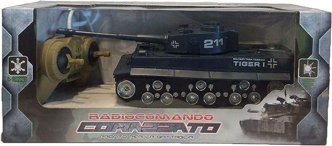 Tanque de Batalla controlado por Radio Tanque RC Control Remoto Tanque de Juguete Lucha Tanque de Batalla Colores Variados Color Aleatorio