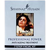 Shahnaz Husain 7 Step Anti Ageing Treatment Facial Kit, Green, 63g