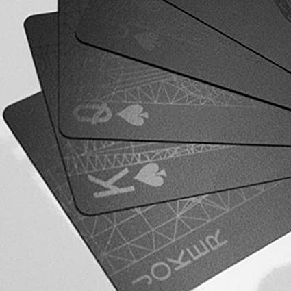 Amazon mollaspace black deck of playing cards by balance wu mollaspace black deck of playing cards by balance wu colourmoves Choice Image