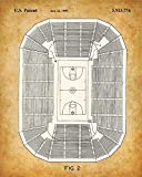 Original Basketball Patent Art Prints - Set of Four