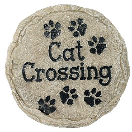 Spoontiques Cat Crossing Stepping Stone by Spoontiques
