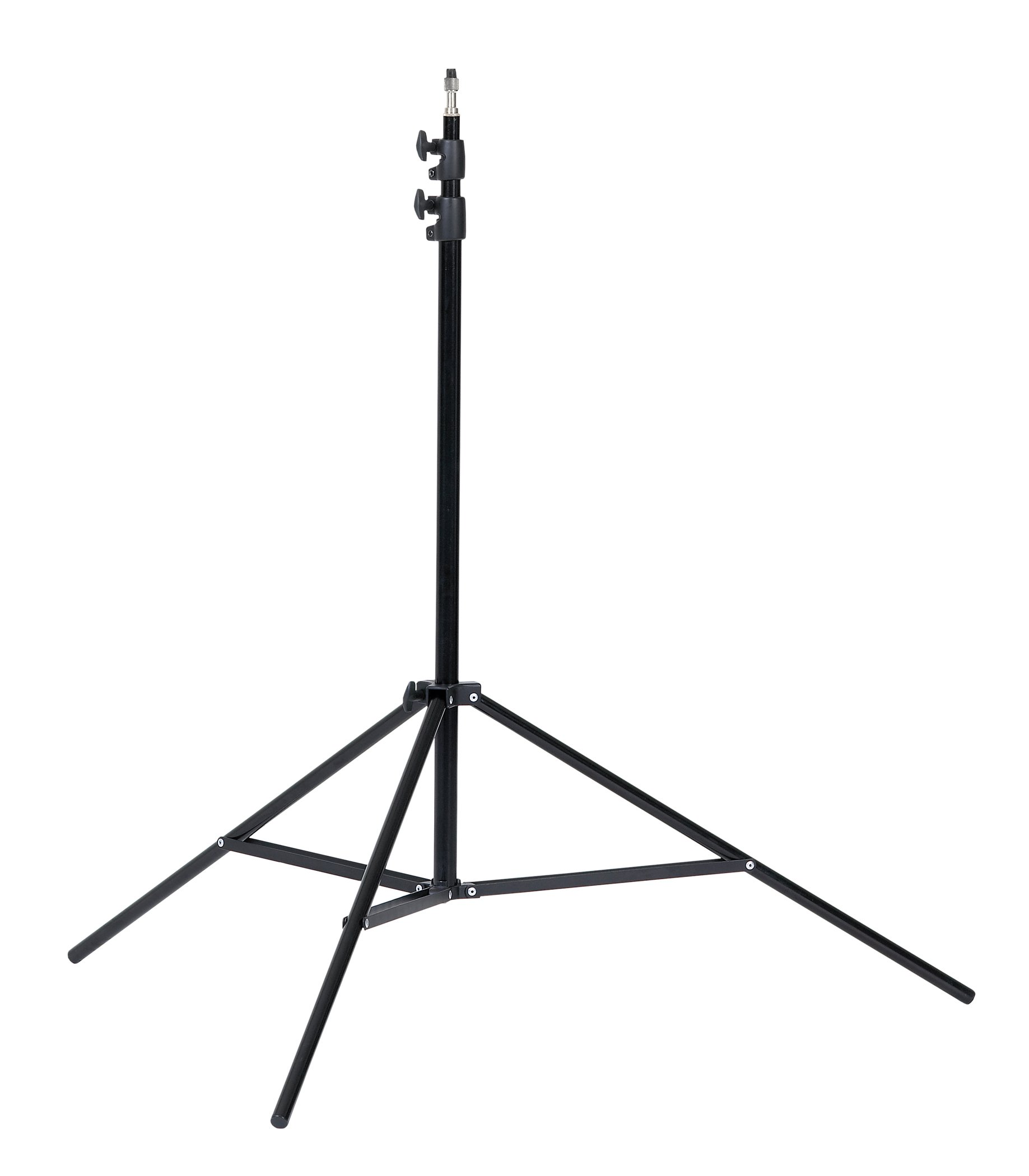 Creative Light 101102 LS38 3 Sections/8-Feet Stand (Black)