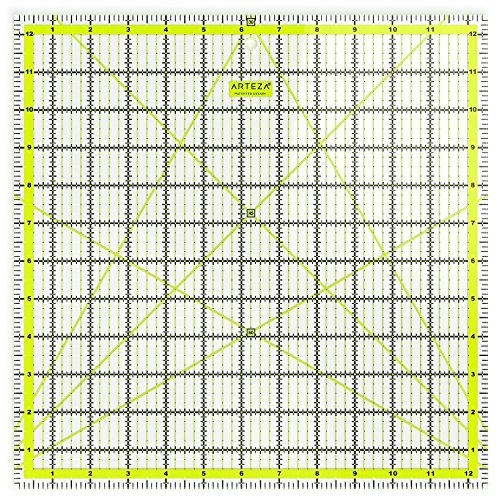 Arteza Acrylic Quilters Ruler Double Colored product image