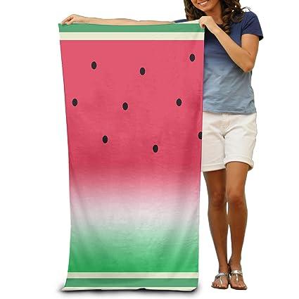 Divertido sandía fruta Melón toallas de toallas de ducha de toallas de playa de piscina de