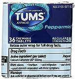 Health & Personal Care : Tums Antacid Calcium Supplement, 36ct