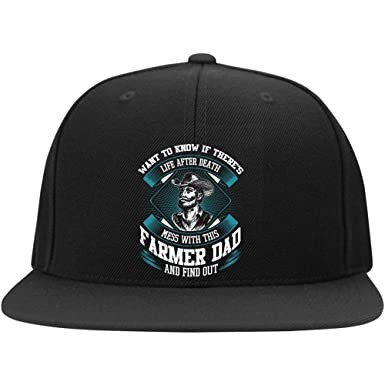 1d6d01c4c06 FLOSTORE Mess with This Farmer Dad Cap