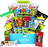 Deluxe-Healthy-Care-Package-Canopy-Snacks-Box-30-Count-Variety-Assortment-Bundle-of-Fruit-Snacks-Granola-Bars-Popcorn-Veggie-Chips-and-More-Great-Easter-Gift