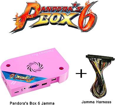 WISAMIC Pandoras Box 6 PCB de Jamma Board: con Jamma Harness ...
