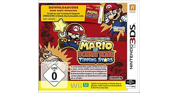 Download-Code für Mario vs. Donkey Kong: Tipping Stars [Importación Alemana]: Amazon.es: Videojuegos