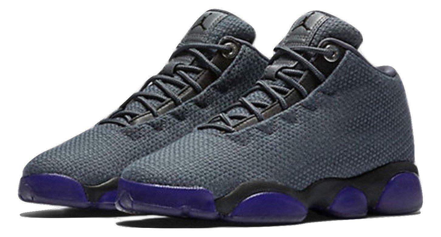 b90dc0fd83 Amazon.com | Nike Air Jordan Horizon Low BG Basketball Trainers 845099  Sneakers Shoes (5.5 M US Big Kid, dark grey black 002) | Fashion Sneakers