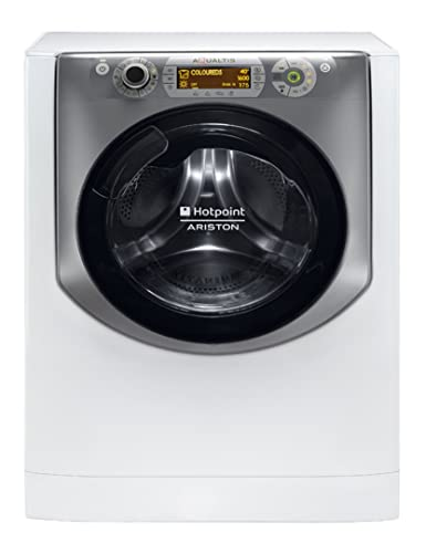 Hotpoint-Ariston AQD1071D 69 EU/A lavadora - Lavadora-secadora (Frente, Independiente, Color blanco, 7 kg, 1600 RPM, A)