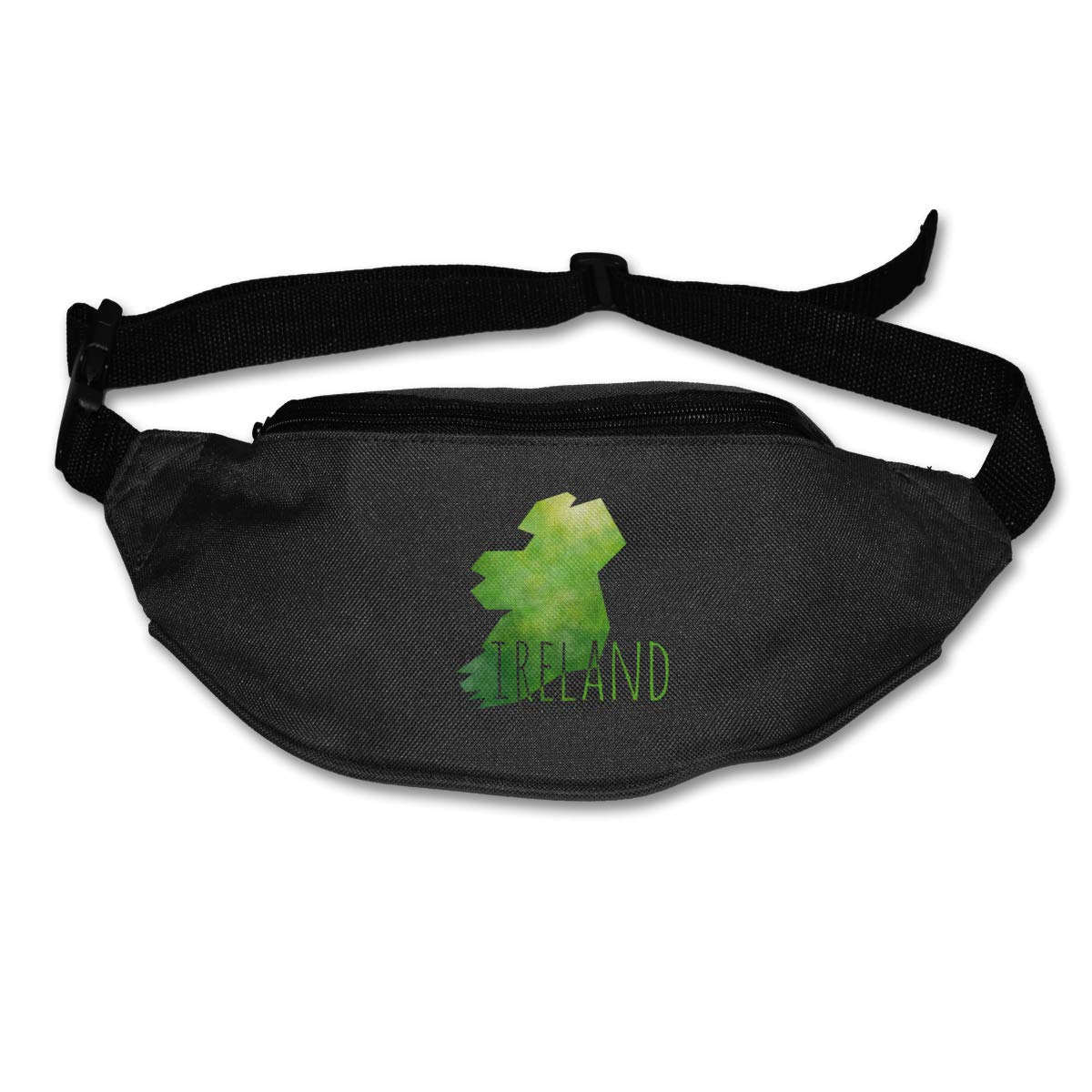 Geometry Ireland Sport Waist Pack Fanny Pack Adjustable For Hike